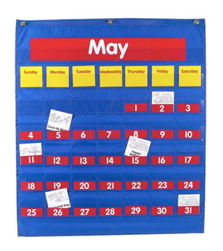 Who cares if it's Monday? Calendars don't belong in preschool classrooms.