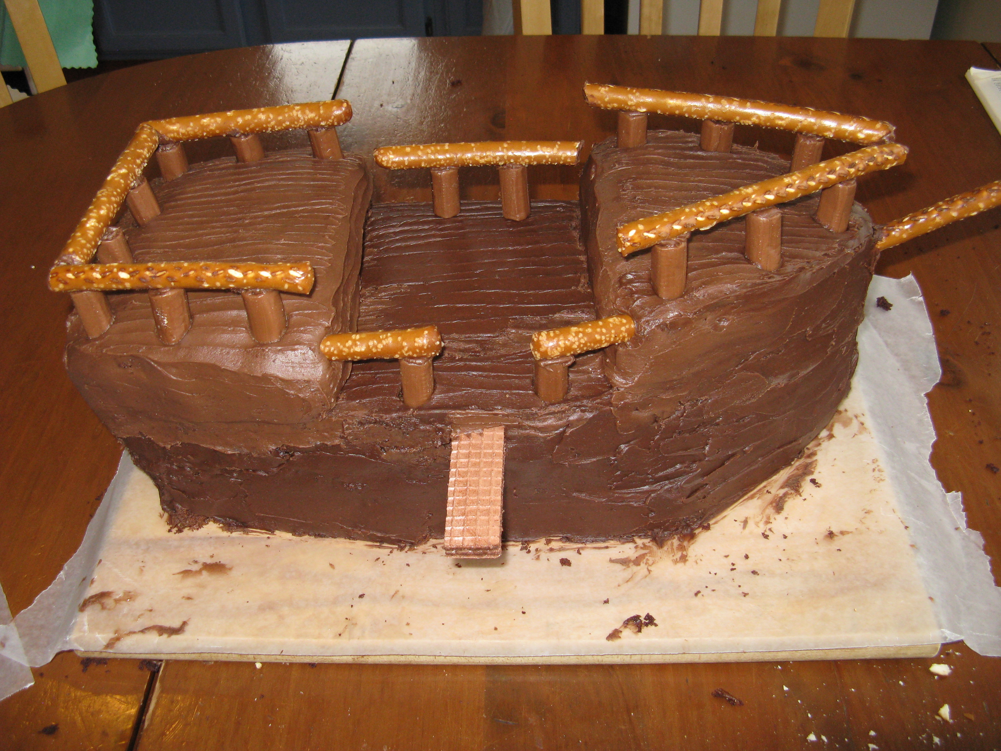Pirate Ship Birthday Cake Images