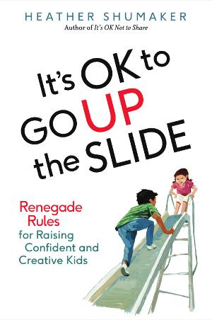 It's OK to Go Up the Slide book cover